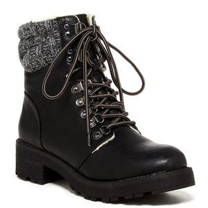 MIA Maylynn Faux Shearling Lined Boot size 7.5